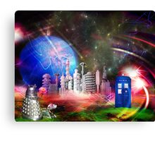 It's Universal! (Awaiting the Return) Canvas Print