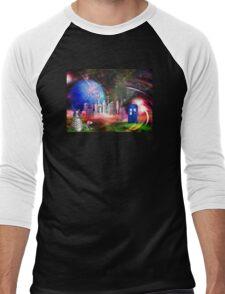 It's Universal! (Awaiting the Return) Men's Baseball ¾ T-Shirt