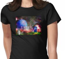 It's Universal! (Awaiting the Return) Womens Fitted T-Shirt