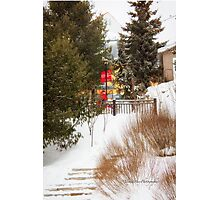 Tremblant Resort in Winter Photographic Print