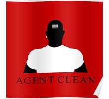 Agent Clean Poster