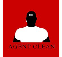 Agent Clean Photographic Print