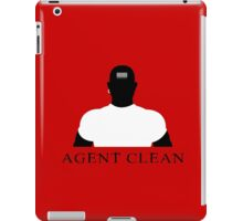 Agent Clean iPad Case/Skin