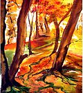 Autumn Forest  by Linda Callaghan