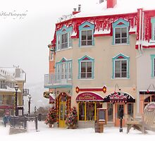Tremblant Resort in Winter by Yannik Hay