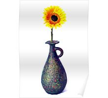 One in a vase Poster