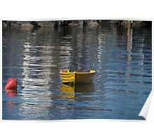 Yellow Dinghy Poster