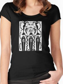 MOON-CURSED Women's Fitted Scoop T-Shirt