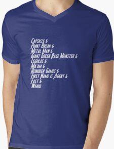 Nicknames 2.0 Mens V-Neck T-Shirt