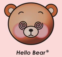 Hello Bear dazzling T-shirts by sgame