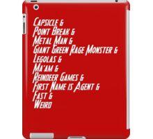 Nicknames 2.0 iPad Case/Skin
