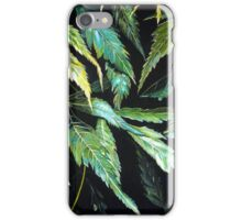 Maple Leaves - After the Rain  iPhone Case/Skin