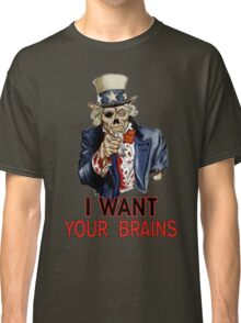 Uncle Sam Zombie Classic T-Shirt