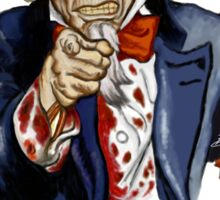 Uncle Sam Zombie Sticker