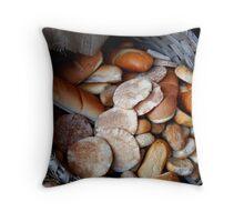 Bread Basket Throw Pillow