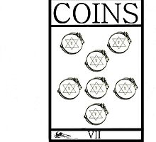 7 of Coins by Peter Simpson