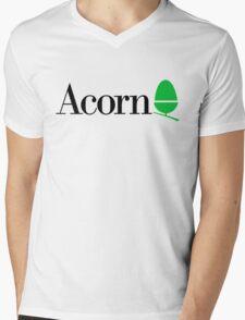 Acorn computers logo Mens V-Neck T-Shirt