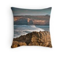 Sherbrooke Estuary Outlook Throw Pillow