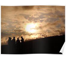 Sunset on Kilimanjaro Poster
