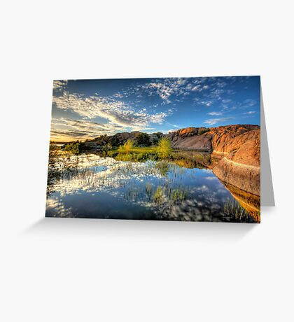 Willow Cove Greeting Card