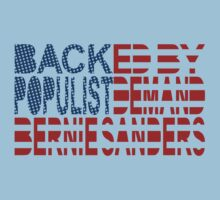 Backed by Populist Demand: Bernie Sanders by Carbon-Fibre Media