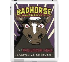 BAD HORSE iPad Case/Skin