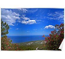 Sardinia scene Poster