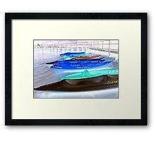 Kayak Spirit   Framed Print