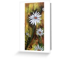 Forest Daisies  Greeting Card