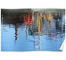 Reflections I - Lakes Entrance Poster