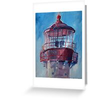 Lighthouse At West Cape May Greeting Card
