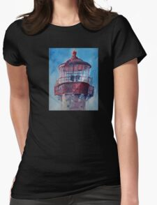 Lighthouse At West Cape May Womens Fitted T-Shirt