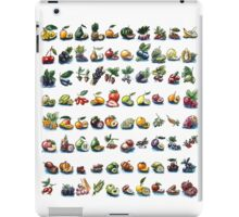 watercolor fruits  iPad Case/Skin