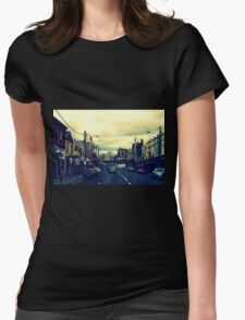 Inner City Suburb Womens Fitted T-Shirt