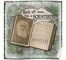 Popular Science: Charles Darwin 2 (distressed) Poster