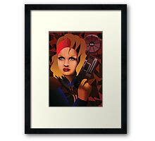 Lone Wanderer of the Wastes Framed Print