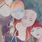 The Masks we wear by Ellen Keagy