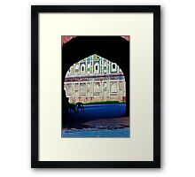 Gates of the Lahore Fort Framed Print