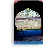 Gates of the Lahore Fort Canvas Print