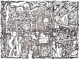 A maze by Ellen Keagy