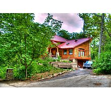 A House in the Woods Photographic Print