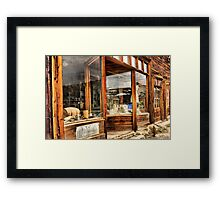 Old Storefront Framed Print