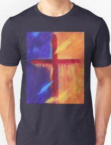 The Cross - darkness to light Unisex T-Shirt