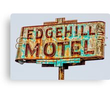 edgehill motel Canvas Print