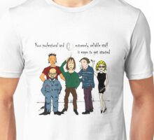 Funny People The Professionals Unisex T-Shirt