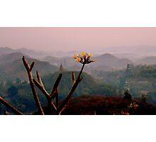 Mrauk Oo at dawn Photographic Print