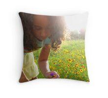 Sunset Treasure Hunt Throw Pillow