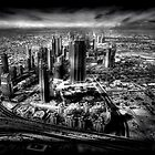 Sheikh Zayed Road - A Dubai View by springwatcher