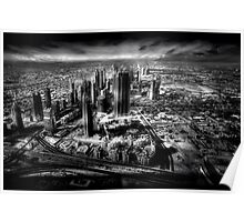 Sheikh Zayed Road - A Dubai View Poster