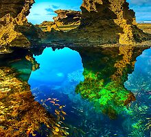 Morning at Sorrento Back Beach by Jason Green